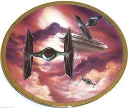 Star Wars Collector Plate The Fighters Space Ve... - $49.95