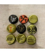More than 20 Stone Brewing Beer Bottle Cap Collection Art Craft - $7.92