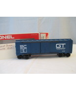 Lionel Grand Trunk Double Door Boxcar 6-9764, 1976, New,Blue, O Gage, 3 ... - $56.00