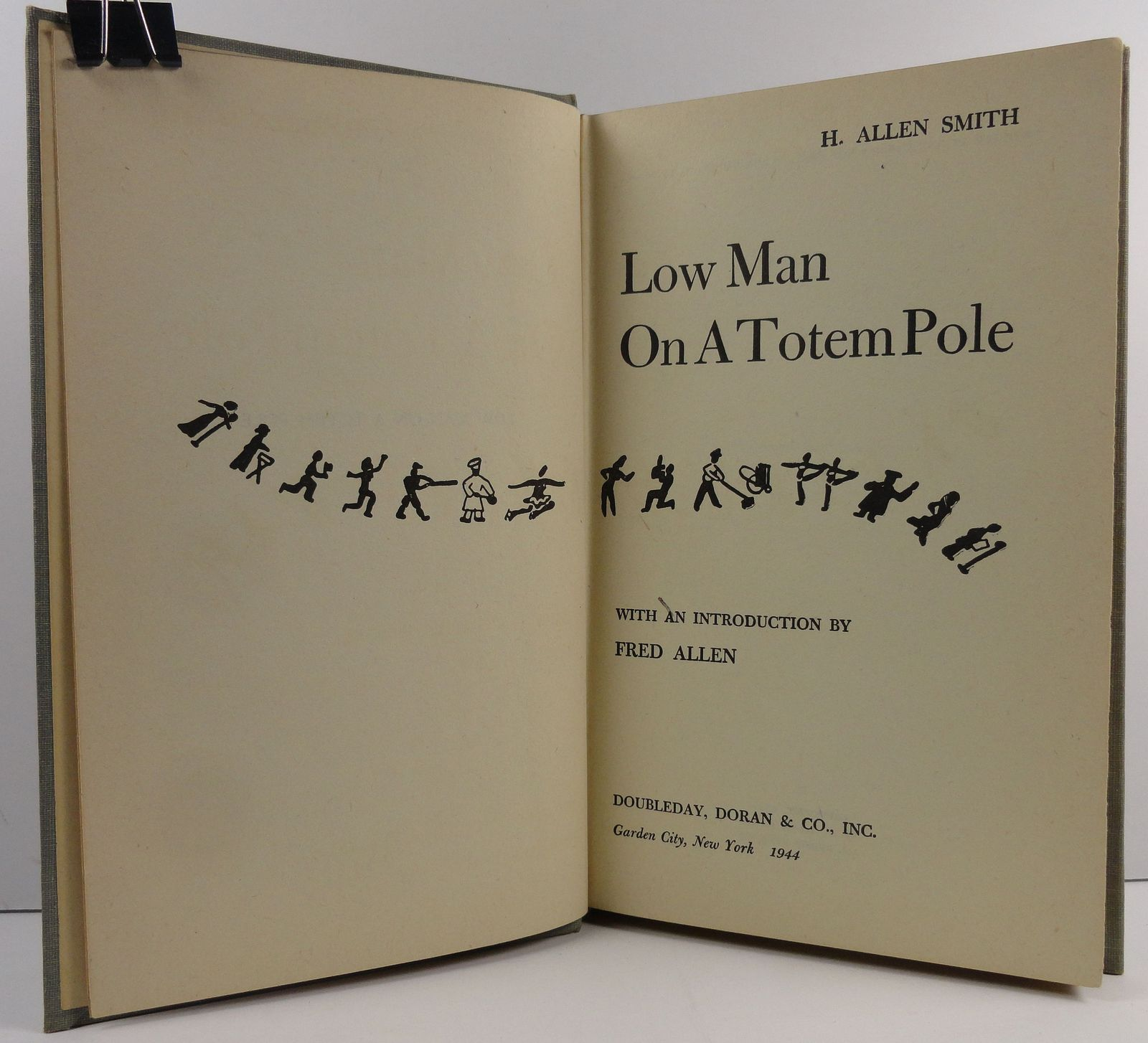 Low Man On A Totem Pole by H. Allen Smith 1944