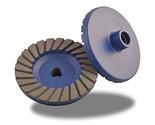Zered 22TC4-M 4 in. Premium Turbo Grinding Cup Wheel For Granite - Medium