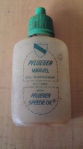 VTG PFLUEGER MARVEL OIL DISPENSER EMPTY - $15.83