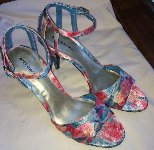 e5f9a8f06eb755 Ann Marino Strappy Sandal 10M 4