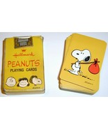 Vintage 1960's PEANUTS Miniature Playing Cards - $9.95