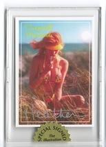 Busty Mermaid Heather bikini card Signed in holder! - $14.95