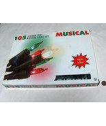 """1998 Christmas Musical Deck the Halls 12 Melody 393"""" 105 Indoor XMAS Tre... - $29.68"""