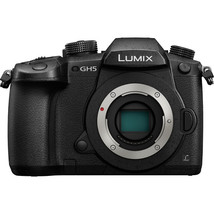 Panasonic Lumix DC-GH5 Mirrorless Micro Four Thirds Digital Camera (Body Only) - $1,409.04