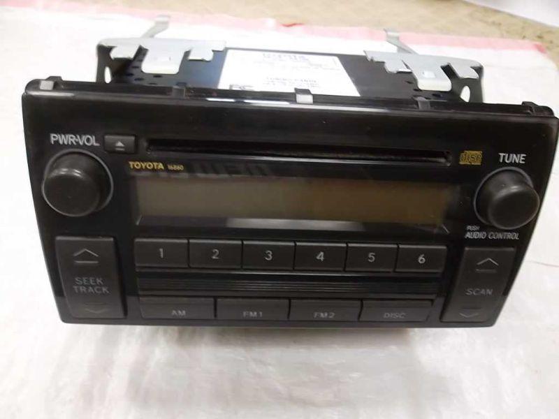 radio cd player 8620 aa160 toyota camry 05 06 2006 2005 radio tuners. Black Bedroom Furniture Sets. Home Design Ideas