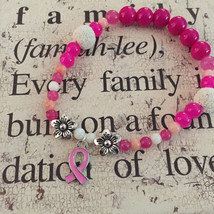 Breast Cancer Awareness Aromatherapy Diffuser Bracelet - $20.00