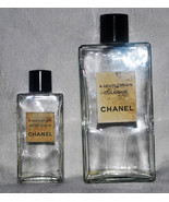 Chanel A Gentleman's Cologne and After Shave Bottles Empty FREE Shipping - $29.99