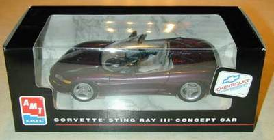 Corvette Sting Ray III CONCEPT AMT/Ertl die-cast MISB