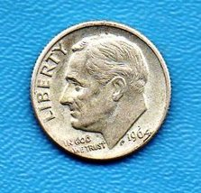 1964 Roosevelt Near Uncirculated 90% silver - $7.00