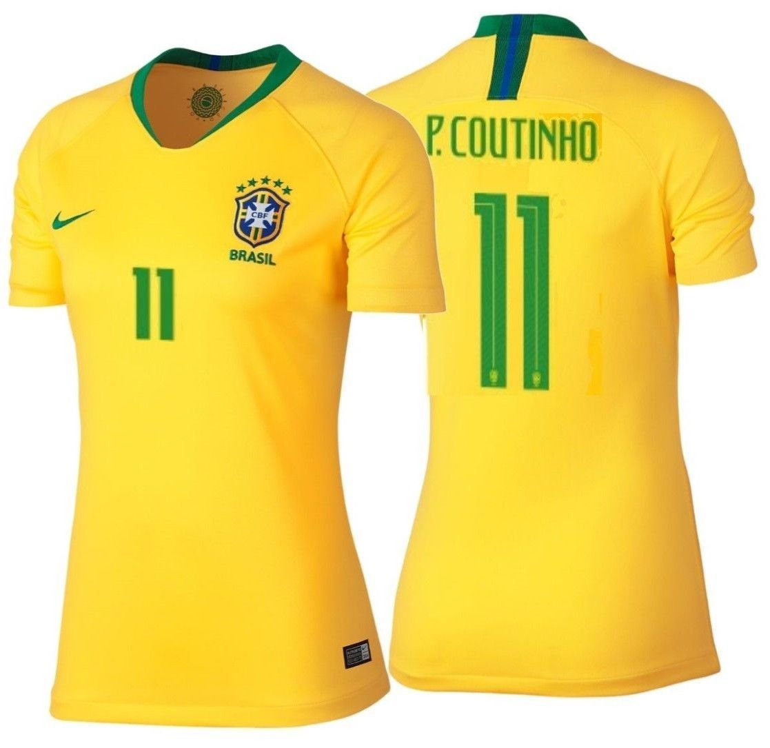 4730059b7 Nike Philippe Coutinho Brazil Home Women s and 38 similar items. 57