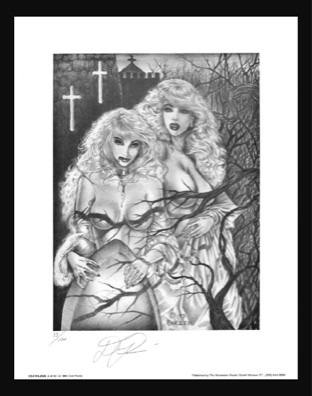 Don Paresi's #2 of 7 VAMPIRE Signed & Numbered Fantasy 500 Limited Print Edition