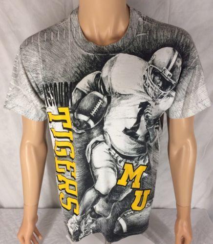71535b5b57dd Vintage Missouri Tigers Football T-shirt L and 50 similar items. 12