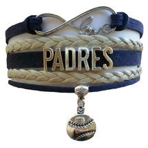 San Diego SD Padres Baseball Fan Shop Infinity Bracelet Jewelry - $11.99