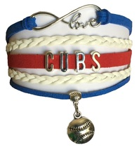 Chicago Cubs Baseball Fan Shop Infinity Bracelet Jewelry 2016 WORLD SERIES - $11.99