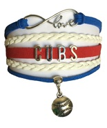 Chicago Cubs Baseball Fan Shop Infinity Bracelet Jewelry 2016 WORLD SERIES - $11.99