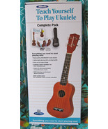 Alfred Ukulele Starter Pack/Soprano Uke/Book w/CD/DVD/Gigbag/New/B Model - $39.99