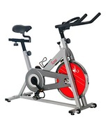 Sunny Health & Fitness SF-B1001S Indoor Cycling Bike, Silver - $164.07