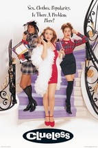 CLUELESS - MOVIE POSTER - 24x36   Alicia Silverstone - $20.00