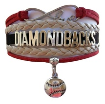 Arizona Diamondbacks Baseball Fan Shop Infinity Bracelet Jewelry - $11.99