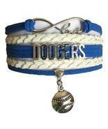 Los Angeles Dodgers Baseball Fan Shop Infinity Bracelet Jewelry - $11.99