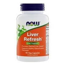 Now Liver Refresh, 90 Veg Capsules - $15.99