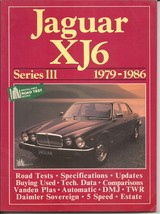 Jaguar XJ6 Series 111 1979-1986 Road Test Book Specs Updates Comparisons - $19.95