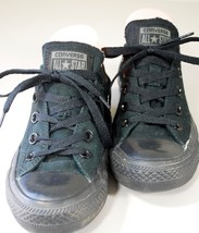 CONVERSE ALL STAR Low Top Chuck Taylor Solid/All Black SNEAKERS Womens 6... - $39.50