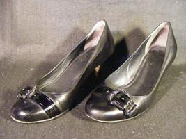 Women's Cole Haan Black Leather Fashion Pumps Size 7B - $13.09