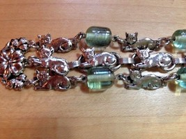 KIRK'S FOLLY Cat Bracelet 3 Strands - 8 inches - Signed - FREE SHIPPING - $75.00