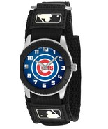 CHICAGO CUBS youth / ladies black adjustable velcro watch - $24.95