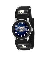 MILWAUKEE BREWERS youth / ladies black adjustable velcro watch - $24.95
