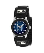 DETROIT TIGERS youth / ladies black adjustable velcro watch - $24.95