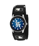 LOS ANGELES DODGERS youth / ladies black adjustable velcro watch - $24.95