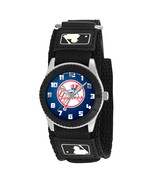 NEW YORK YANKEES TOPHAT youth / ladies black adjustable velcro watch - $24.95