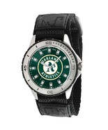 Oakland A's MLB Logo Men's Wrist Watch ADJ Velc... - $26.95