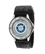 Seattle Mariners MLB Logo Men's Wrist Watch ADJ... - $26.95