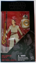Star Wars The Force Awakens Rey and BB-8 The Black Series Wave 4.5 - $28.88