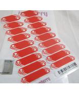 Jamberry NBA Atlanta Hawks 0916 51A5 Nail Wrap (Full Sheet) Officially L... - $16.82
