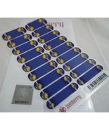 Jamberry NBA Golden State Warriors 0916 53A3 Nail Wrap (Full Sheet) Lice... - $18.50