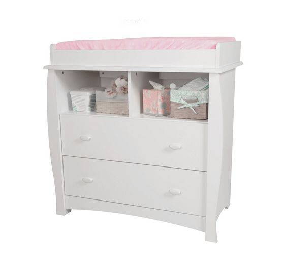 Changing Table Set Nursery Furniture Armoire Drawers Storage Baby Dresser Diaper Changing Tables