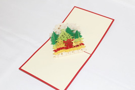 Reindeers, Birthday Card, Greeting Card, Christmas Card, Anniversary Car... - $4.99