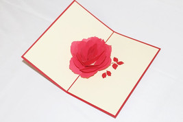 A Rose, Birthday Card, Greeting Card, Christmas Card, Anniversary Card, 220 - $4.99