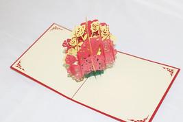 Dozen of Roses, Birthday Card, Greeting Card, Christmas Card, 219 - $6.99
