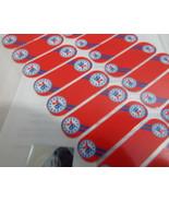Jamberry NBA Philadelphia 76ers 0916 49A7 Nail Wrap (Full Sheet) Licensed - $18.50
