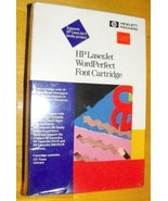 HP LaserJet WordPerfect Font Cartridge:CG Times,Univers - $18.80