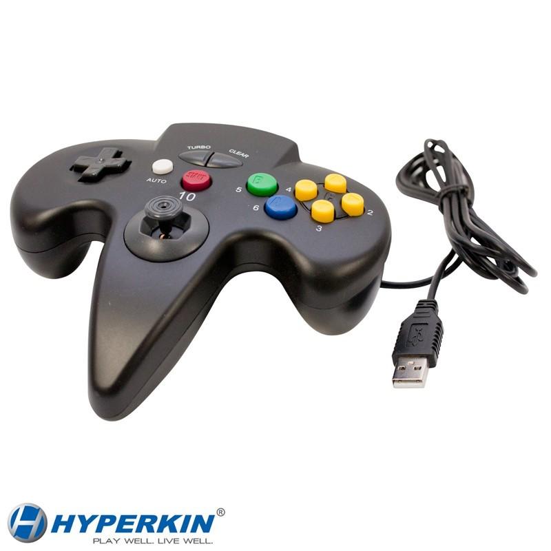 Tomee Nintendo 64 PC & MAC USB GamePad Controller N64