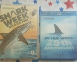 Shark Week: Restless Fury dvd & 25th Anniversary Collection Blu-ray Disc